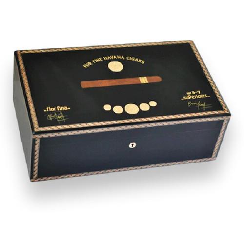 Elie Bleu Medals 120 Cigar Humidor - Medals Collection