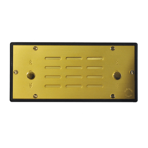 Elie Bleu Humidifier System 75 Cigars - Gold (NS22AU075J)