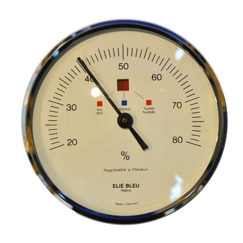 Elie Bleu Large Hygrometer - Silver (NS23AU002G)