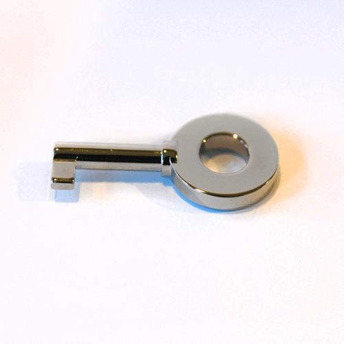 Elie Bleu Humidor Key - Silver (NS61AUG)
