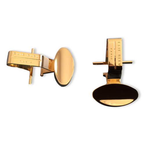 Elie Bleu Gold Bridges for Porcelain Ashtray