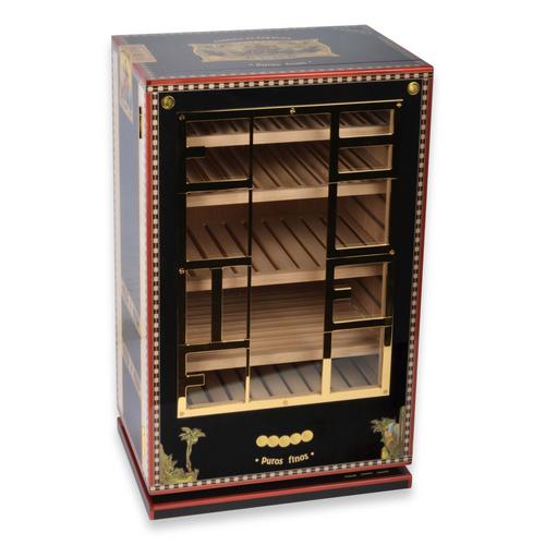 Elie - Bleu - Black - Flor - de - Alba - 150 - Cigar - Cabinet - Humidor - Alba Collection - Exterior