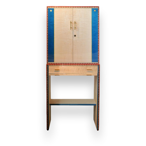 Elie Bleu Flor de Alba 600 Cigar Cabinet Humidor - Alba Collection (AB15SY600S)