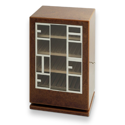 Elie Bleu Amboyna Burl 150 Cigar Cabinet Humidor - Classic Collection (NO15OI150S)