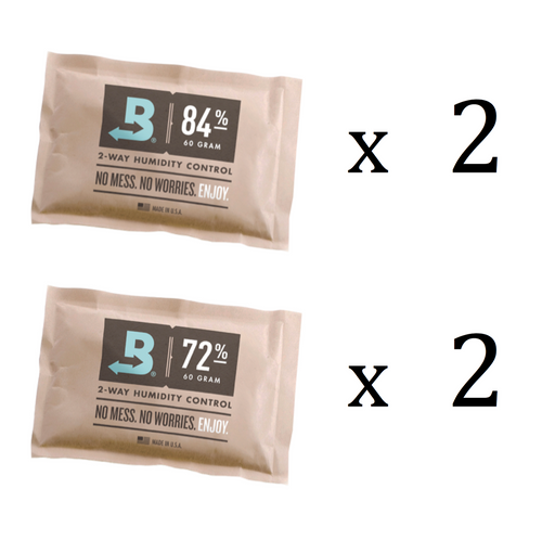 Boveda Starter Kit for 25-50 Cigar Humidors - First 3 Month