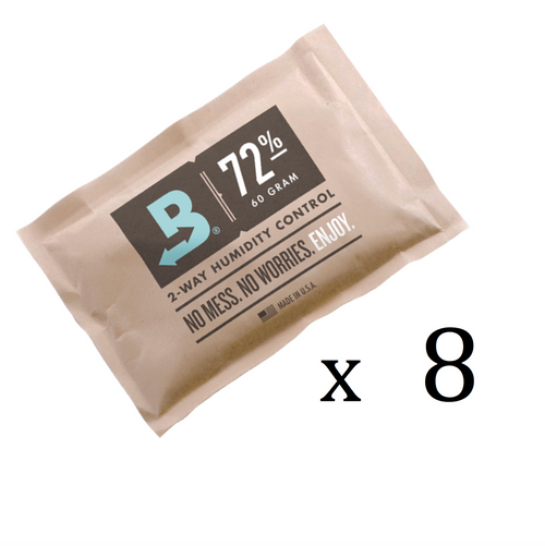 Boveda Refill Kit for 25-50 Cigar Humidors - 12 Months