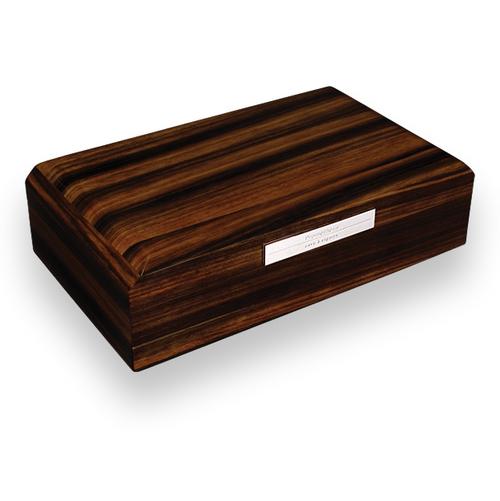 Prometheus Macassar Ebony 100 Cigar Humidor - Octagon Series