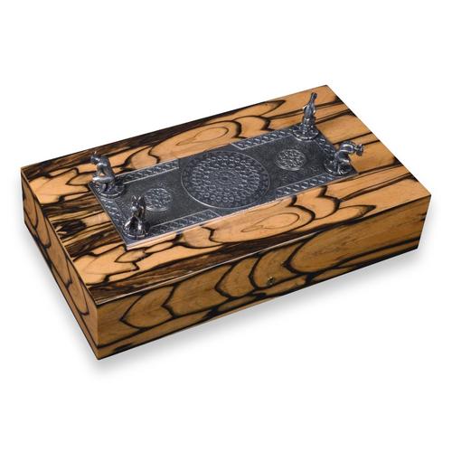 Elie Bleu Gargoyle Royal Ebony 110 Cigar Humidor - Limited Edition Series