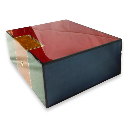 Elie Bleu Parrot 75-120 Cigar Humidor - Limited Edition Series