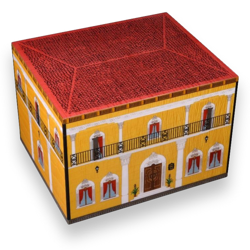 Elie Bleu Casa Cubana 110 Cigar Humidor 2018 - Casa Cubana Collection - Exterior -1