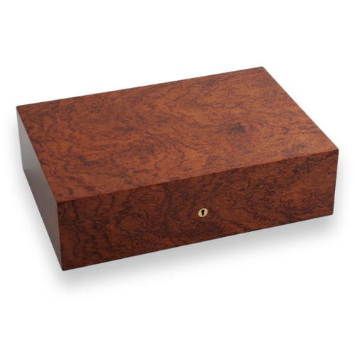 Elie Bleu Bubinga 50-300 Cigar Humidor - Classic Collection