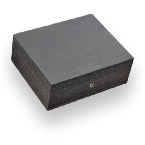 Elie Bleu Smoked Oak Matte Finish 110 Cigar Humidor - Classic Collection