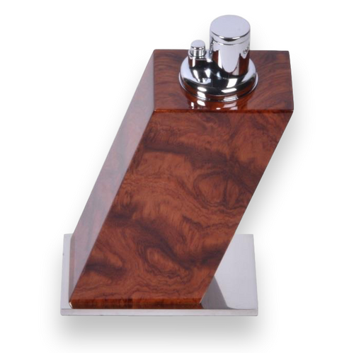 Elie Bleu Figured Bubinga Table Lighter - Classic Collection