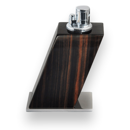 Elie Bleu Macassar Ebony Table Lighter - Classic Collection