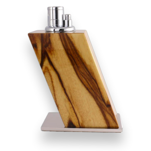 Elie Bleu Limba Table Lighter - Classic Collection