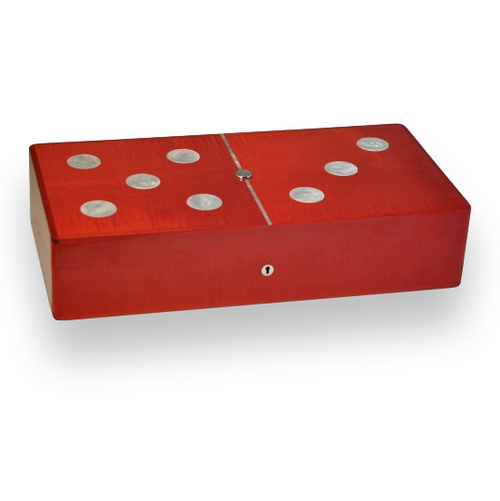 Elie Bleu Glücksspielbox aus Perlmutt