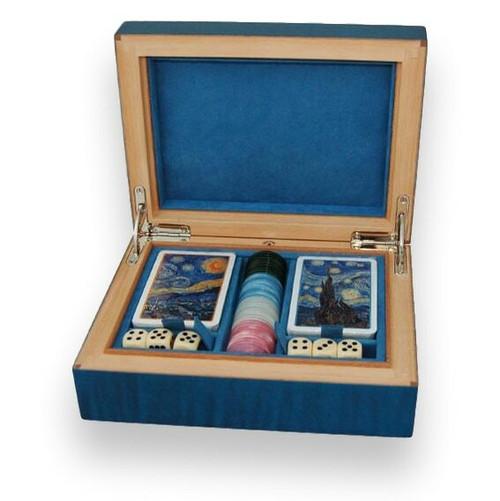 Elie Bleu Sycamore Gambling Box - Blau
