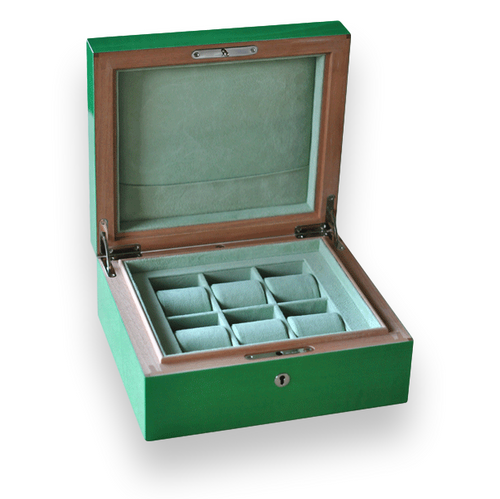 Elie Bleu Sycamore 6 Watch Box - Fruit Collection