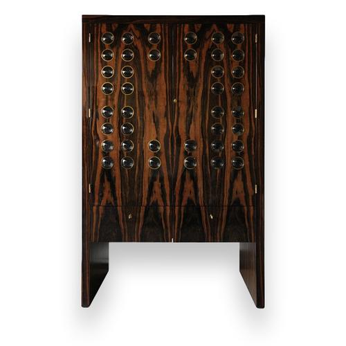 Elie Bleu Macassar Ebony 50 Watchwinder Cabinet - Exterior 1