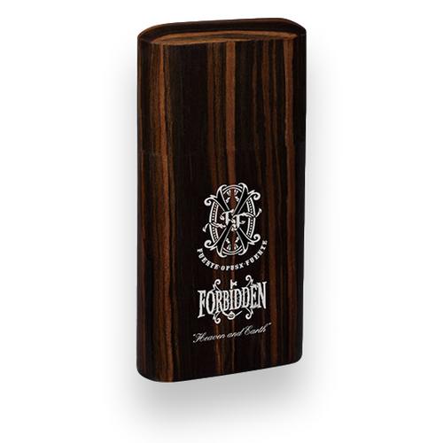 Prometheus Forbidden X Chrome 3 Cigar Pocket Humidor