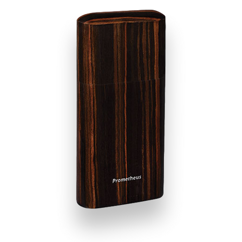 Prometheus Macassar Ebony 3 Cigar Pocket Humidor