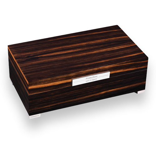 Prometheus Macassar Ebony 150 Cigar Humidor - Platinum Series