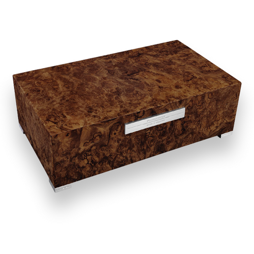 Prometheus Walnut Burl 150 Cigar Humidor - Platinum Series