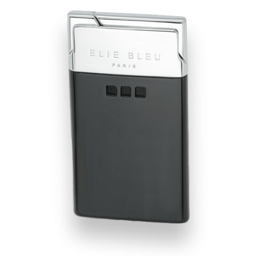Elie Bleu Black Matte Finish Pocket Lighter - J-11 Delgado Collection