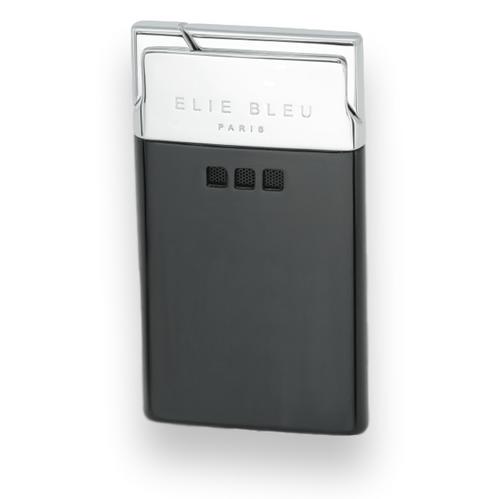 Elie Bleu Schwarzes mattes Taschenfeuerzeug - J-11 Delgado Collection