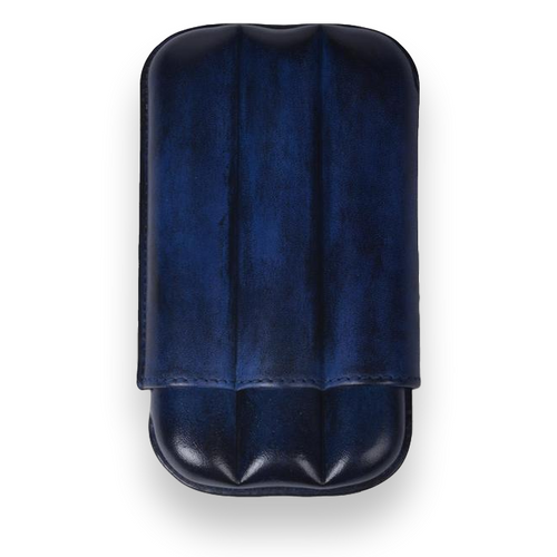 Elie - Bleu - Blue - Patina - 3 - Cigar - Up - to - 64 - Ring - Gauge - Exterior