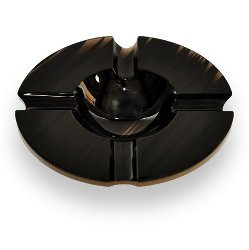 Elie - Bleu - Black - Obsidian - Stone - 4 - Cigar - Ashtray - Exterior