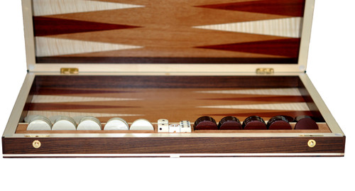 Elie Bleu Rosewood Backgammon