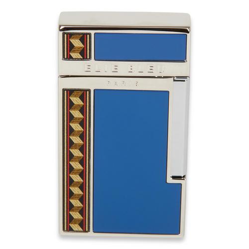 Elie - Bleu - Blue - J - 14 - Diamond - Jet - Flame - Cigar - Lighter - Flor - de - Alba - Collection - Exterior