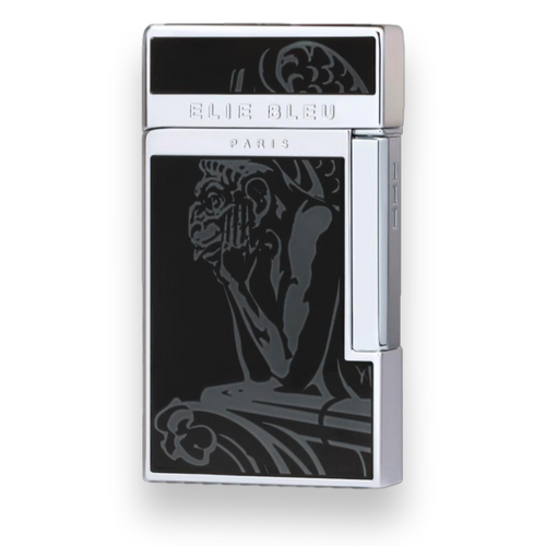Elie Bleu J-14 Diamond Jet Flame Cigar Lighter - Gargoyle Limited Edition