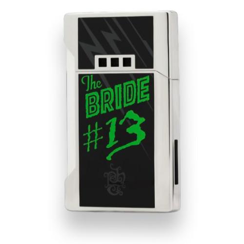 Elie Bleu J-12 Double Sided Wide Jet Flame Lighter - Tatuaje The Bride Limited Edition