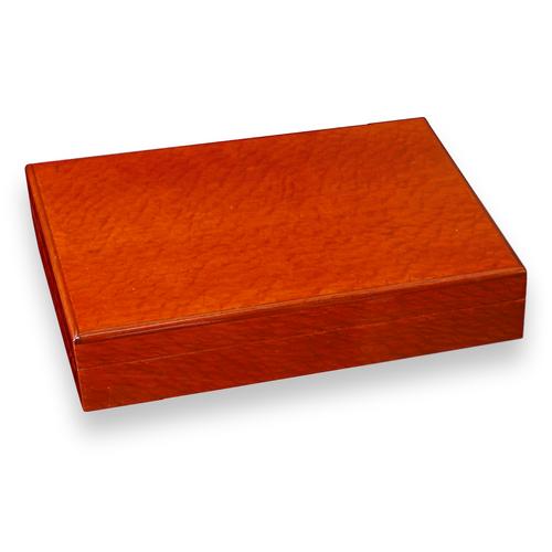 Savoy Beetlewood 12 Cigar Desktop Humidor