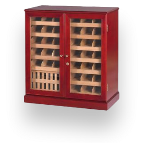 Quality Importers Commercial 1500 Cigar Wall Cabinet Humidor