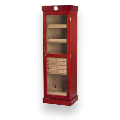 Quality Importers Tower 3000 Cigar Display Humidor 4-8