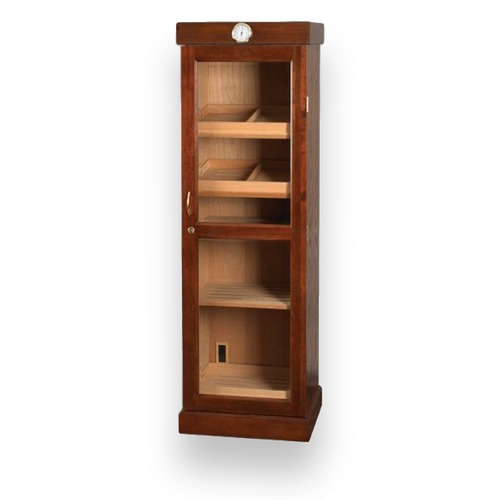 Quality Importers Mahogany Tower 3000 Cigar Display Humidor 4