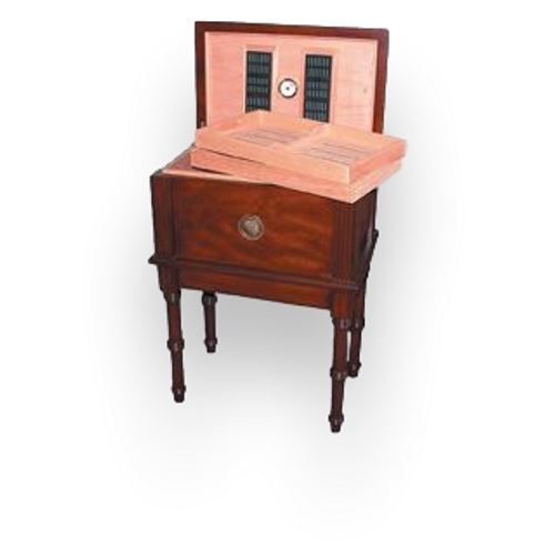 Quality Importers San Marco - 300 Cigar Antique Tisch Humidor