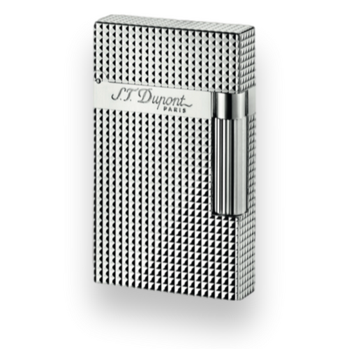 S.T. Dupont Ligne 2 Cigar Lighter - Silver Palladium Series