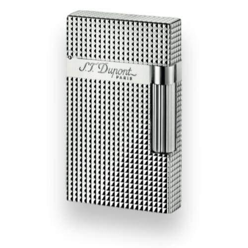 S.T. Dupont Ligne 2 Cigar Lighter - Silver Palladium Series