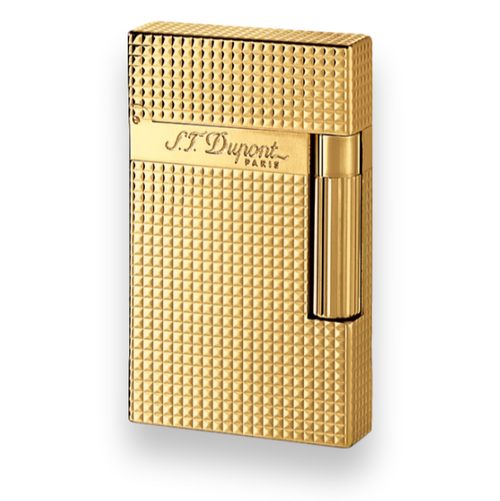 S.T. Dupont Ligne 2 Cigar Lighter - Gold Series - Exterior 1