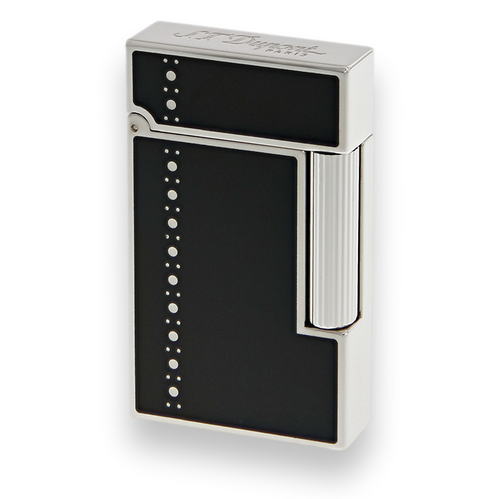 S.T. Dupont Ligne 2 Cigar Lighter - Lacquer Series - Derby Palladium - Exterior Front