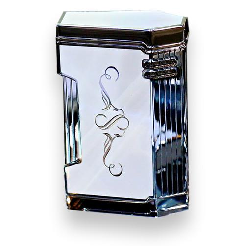Prometheus White Lacquer Magma T Cigar Lighter - Limited Edition Sencillo