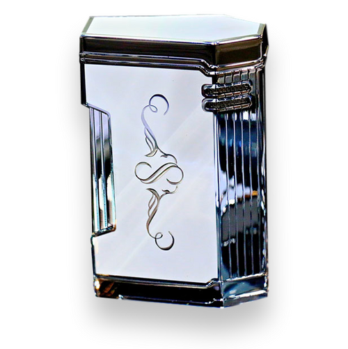 Prometheus White Lacquer Magma T Cigar Lighter - Limited Edition Sencillo