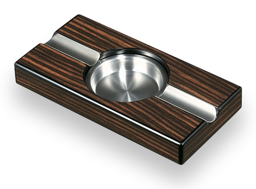 Visol Windsor Ebony Wood Cigar Ashtray