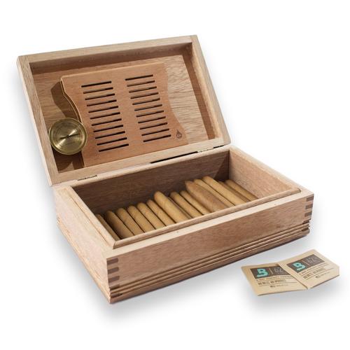 American Chest Americana Rustic Solid Mahogany 50-Cigar Humidor (HNE1)