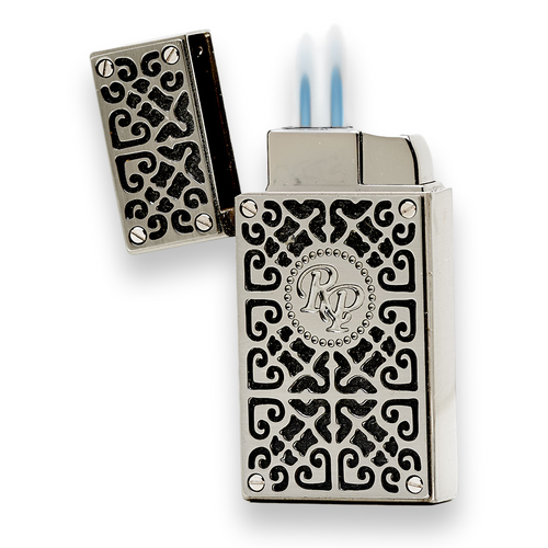 Rocky Patel Burn Lighter Series Exterior with Flame