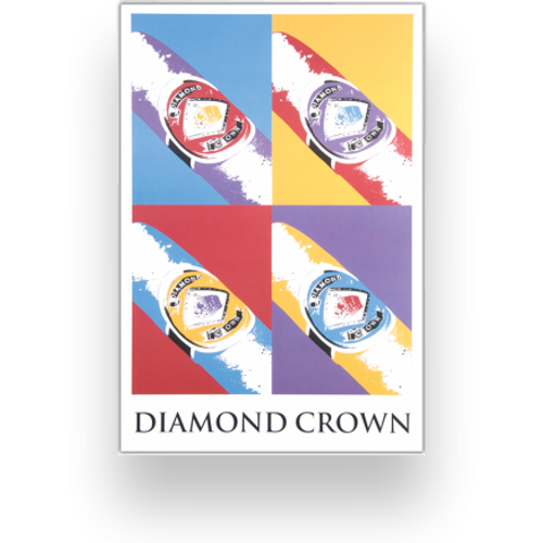 "Diamond Crown ""Andy Warhol"" Poster (POS60090)"